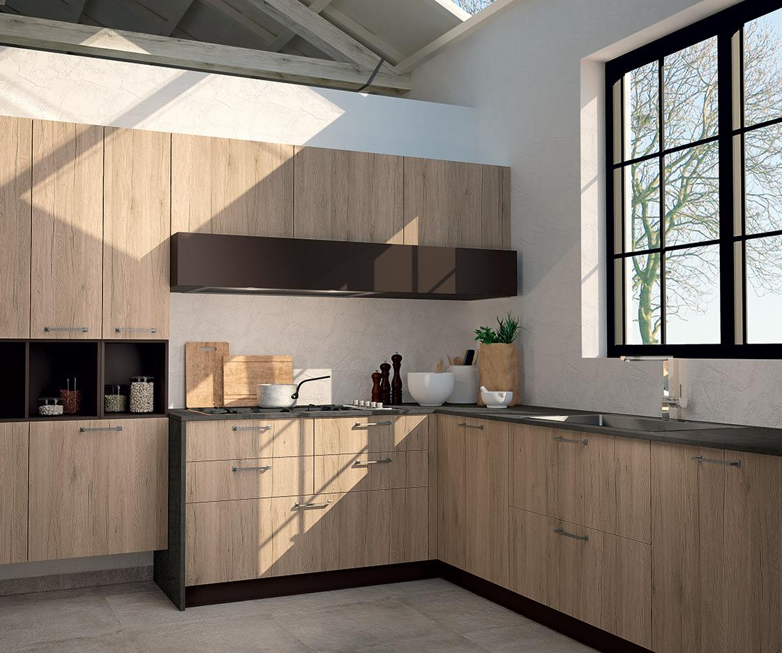 Sp 22 vintage gallery cucine moderne astra - Cucine astra prezzi ...