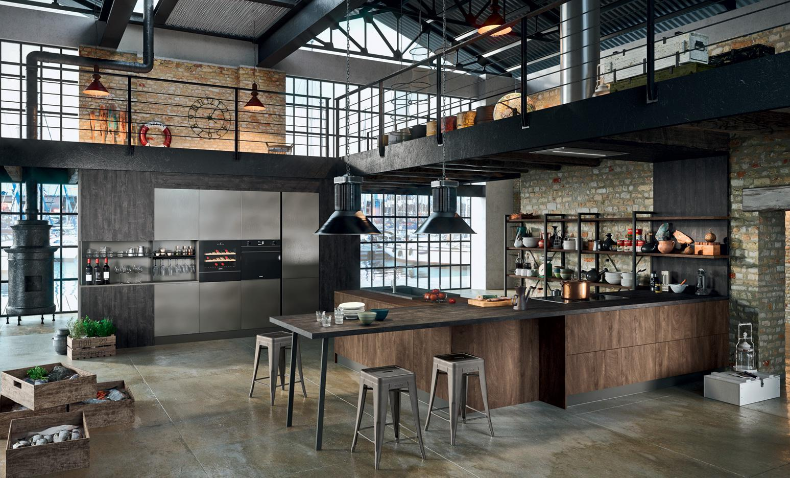 Industrial Chic Kitchen Ideas