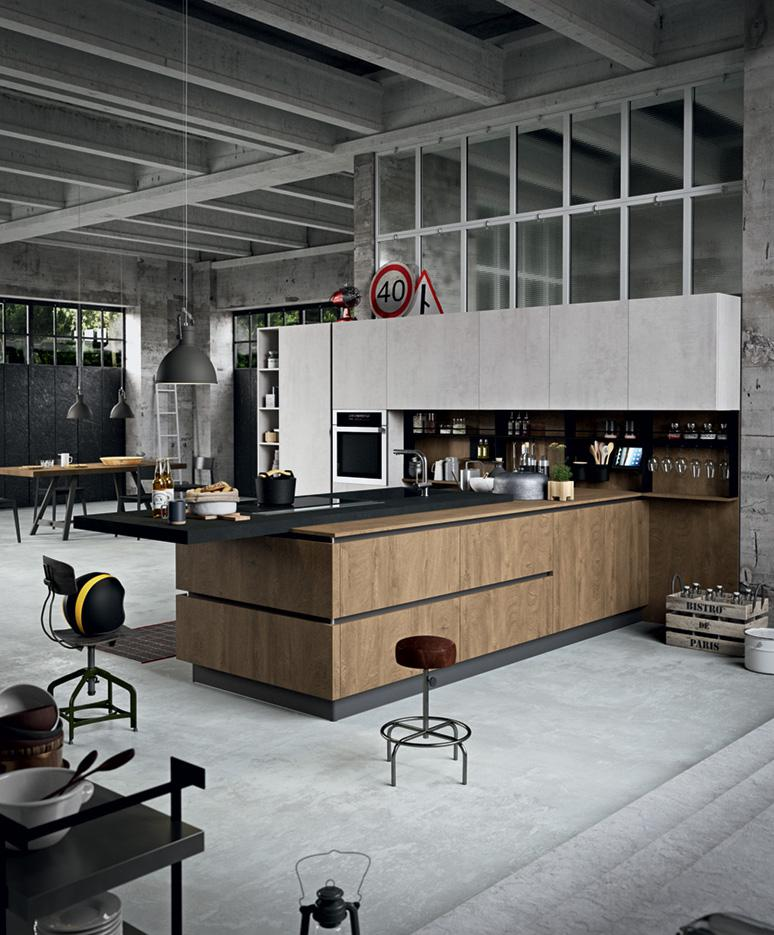 Cucina industrial kitchen cucine design astra with cucine - Cucine astra opinioni ...