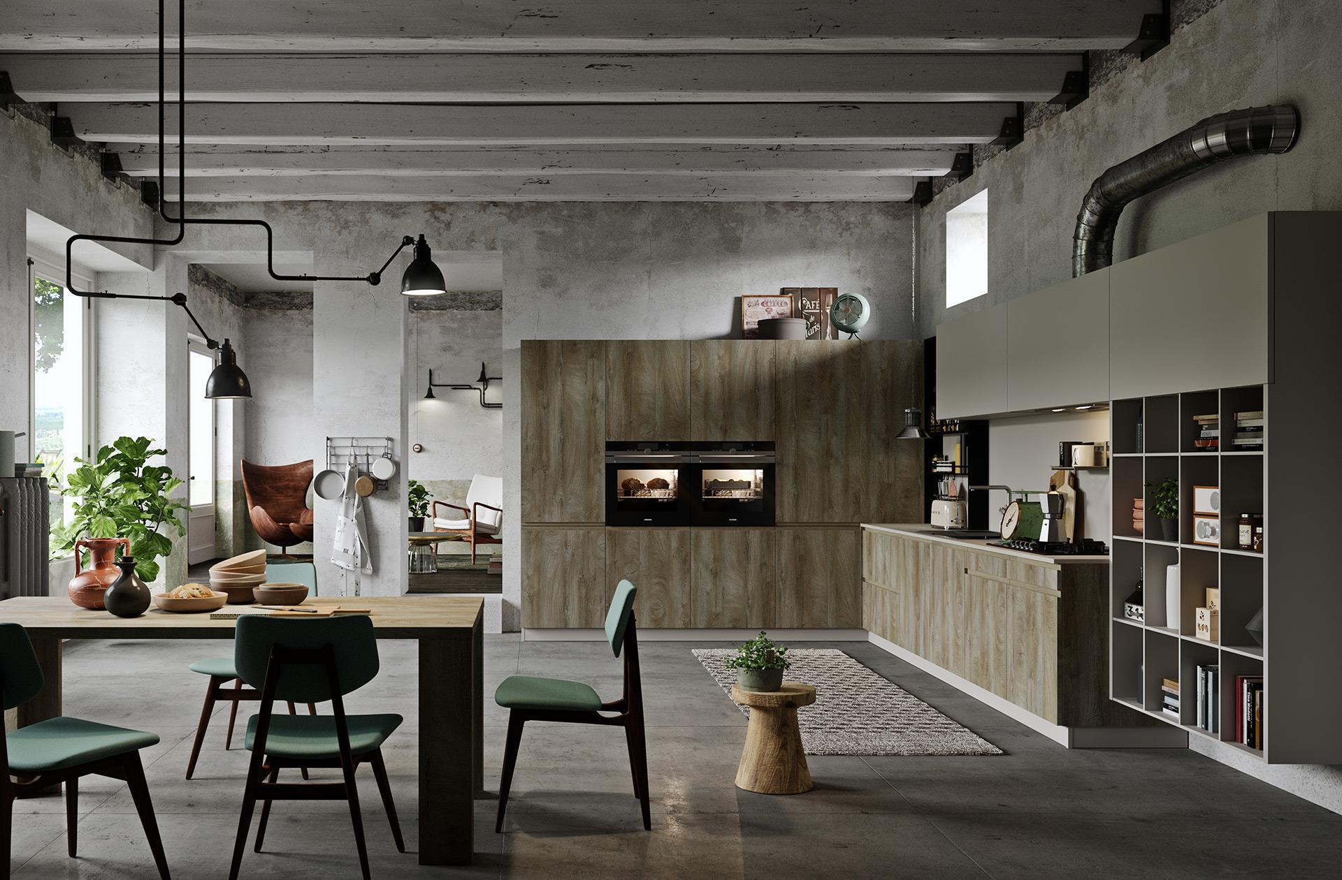 Cucina Line Dakota | Cucine Moderne | Astra