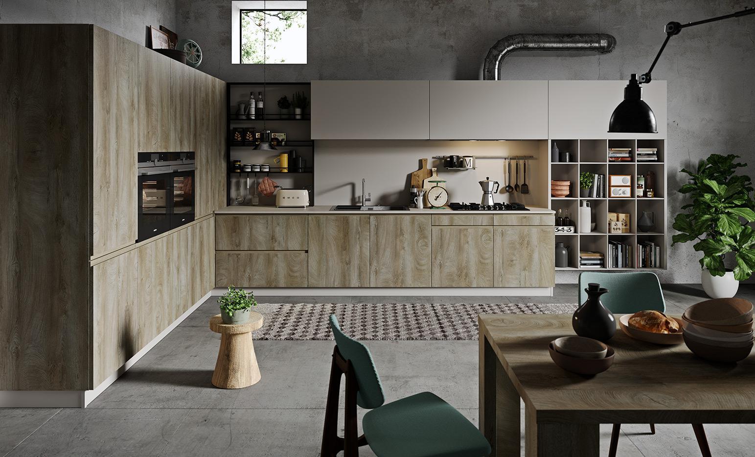 Line Dakota Gallery | Cucine Moderne | Astra