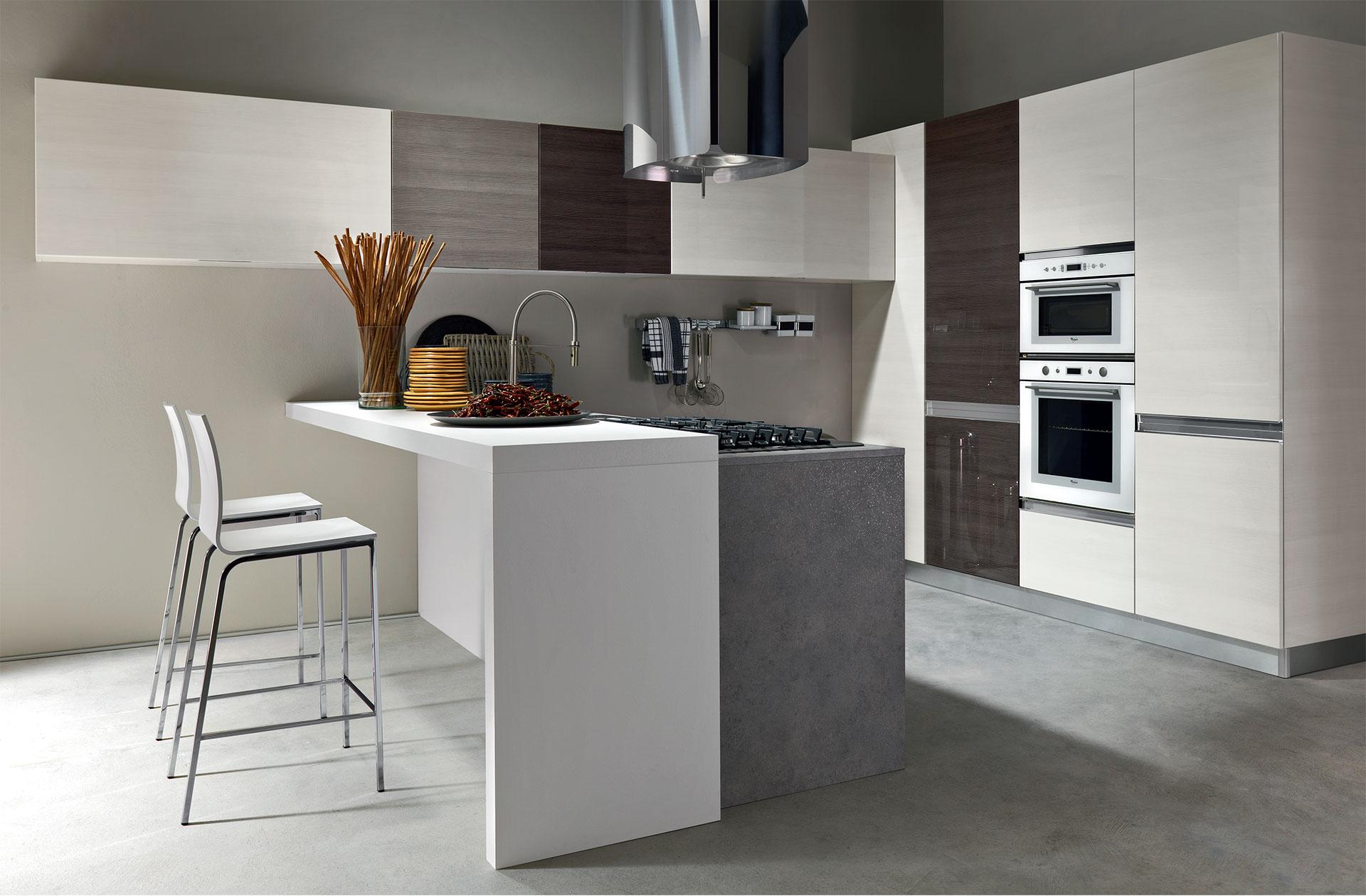 Cucina vela cucine moderne astra - Immagini cucine moderne ...